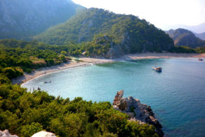 Antalya Olimpos Sahili Ucuz Tatil