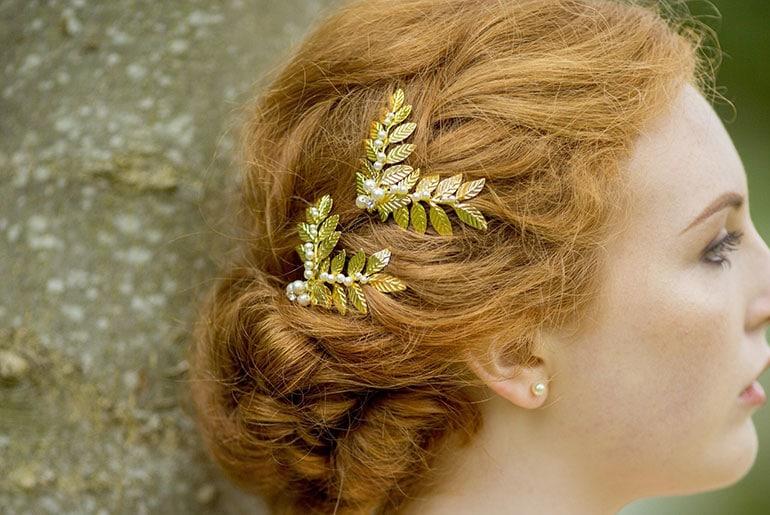 Mücevherli Saç Tokası Modası