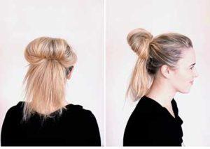 Uzun Saç Topuz 2