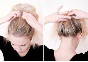 Uzun Saç Topuz 3