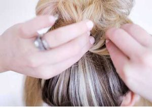 Uzun Saç Topuz 7