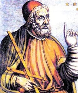 Yunan Astronom ve Matematikçi Ptolemy
