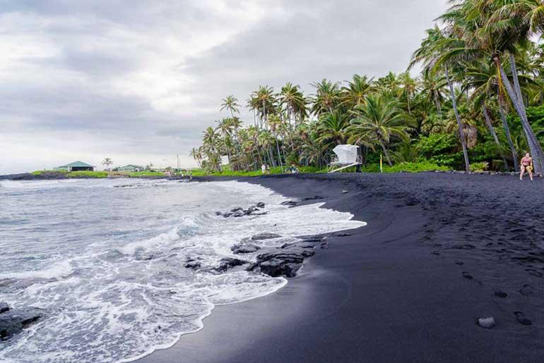 Punaluu Sahili/Siyah Kumsal (Hawaii)