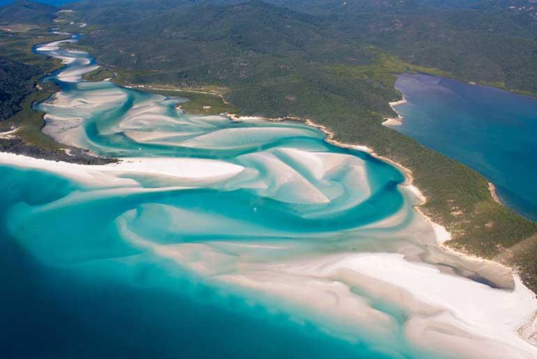 Whitehaven (Whitsunday Adaları-Avustralya)