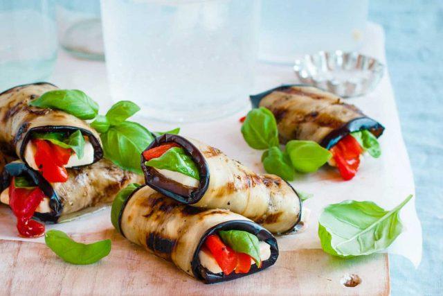 En Hafif Yaz Yemeği: Patlıcan Ruloları