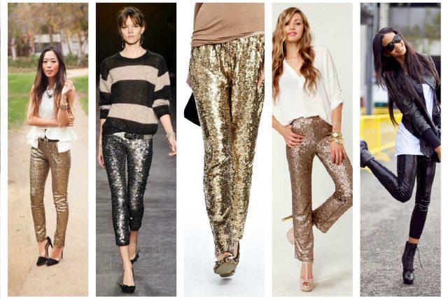 2018 Yılında Metalik Taytlar Çok Moda