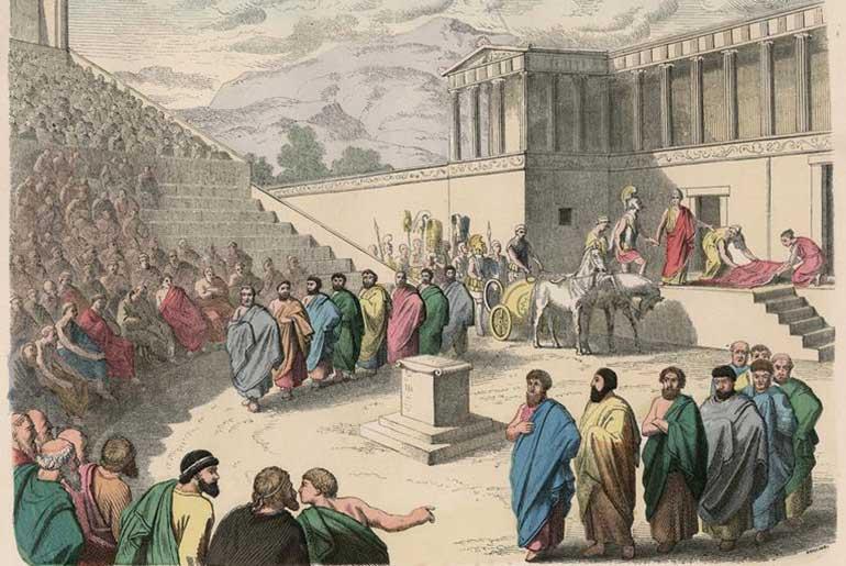 Agamemnon Oyunu Kırmızı Halı