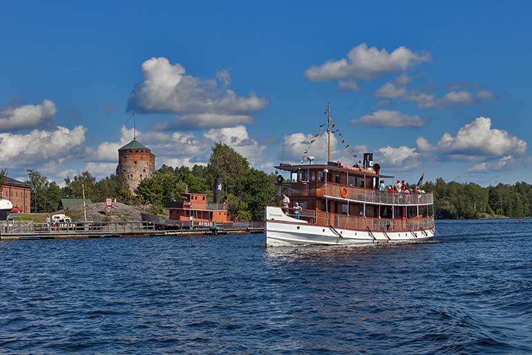 Saimaa Kanalı Finlandiya