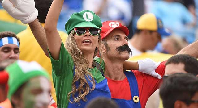 Cadılar Bayramı Kostümleri Çiftler Mario – Luig