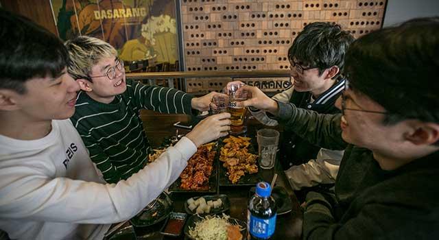 Güney Kore Alkol Tüketimi