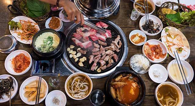 Güney Kore Yemek Kültürü