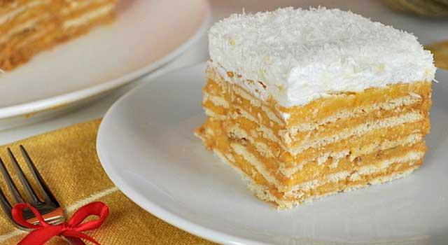Bisküvili Gelin Pastası